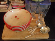 Crockery, glassware and cutlery to make you smile :)