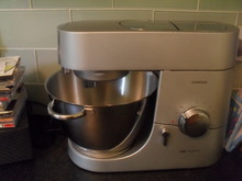 My Kenwood Chef Titanium - the best mixer / processor in the world!