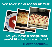 Recipe ideas for the Yummy Cookery Club