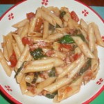 Penne Arrabiata - ready to serve!