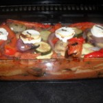 Roasted Mediterranean Vegetable Pudding